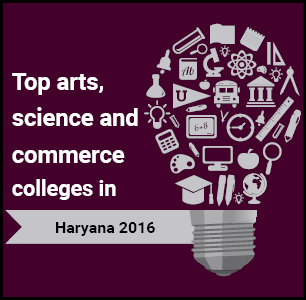 Top Arts, Science and Commerce Colleges in Haryana 2016