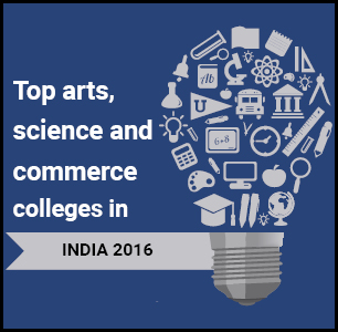 Top Arts, Science and Commerce Colleges in India 2016