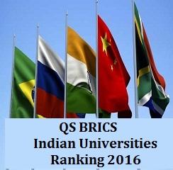 QS BRICS Ranking 2016: IISc drops from top 5