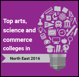 Top Arts, Science and Commerce Colleges in North East 2016