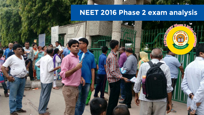 NEET 2016 Phase 2 exam analysis- Majority questions from NCERT