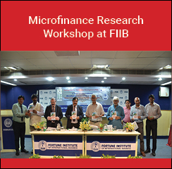 FIIB Delhi organises Microfinance research workshop