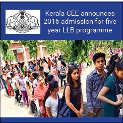 Kerala CEE announces KLEE 2016 for 5-year LLB admissions; exam on August 21