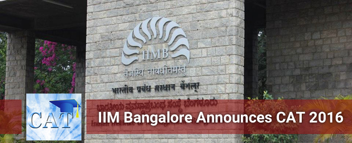 CAT 2016 notification released by IIM Bangalore; test on December 4 with no change in exam pattern