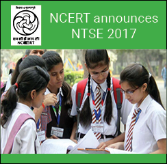 NCERT announces NTSE 2017; stage 1 exam on November 5, 6 & 13
