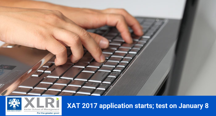 XAT 2017 application starts; test on January 8