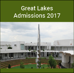 Great Lakes Institute of Management PG admissions 2017