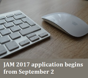 JAM 2017 Application Form: IIT Delhi opens registration window from September 2