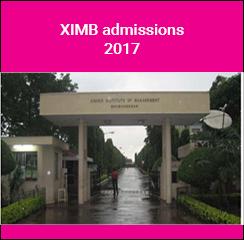 XIMB announces MBA admissions 2017
