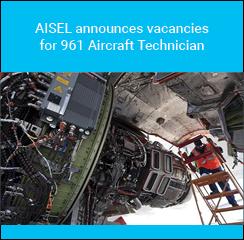 AISEL announces vacancies for 961 Aircraft Technician