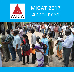 MICAT 2017 announced; test on December 11