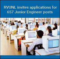 RVUNL invites applications for 657 Junior Engineer posts