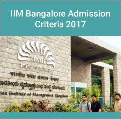 IIM Bangalore Admission Criteria 2017; 40% weightage to CAT