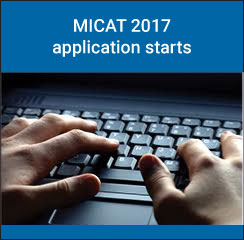 MICAT 2017 application starts from September 30