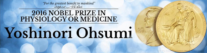 Yoshinori Ohsumi wins Nobel Prize in Medicine 2016