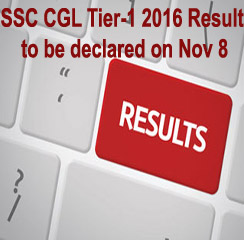 SSC CGL Tier-1 2016 Result to be declared on Nov 8; Tier-II exam to be conducted on Nov 30