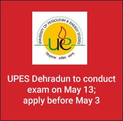 ULSAT 2017: UPES Dehradun to conduct exam on May 13; apply before May 3