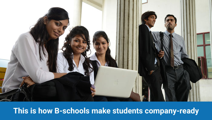 This is how B-schools make students company-ready
