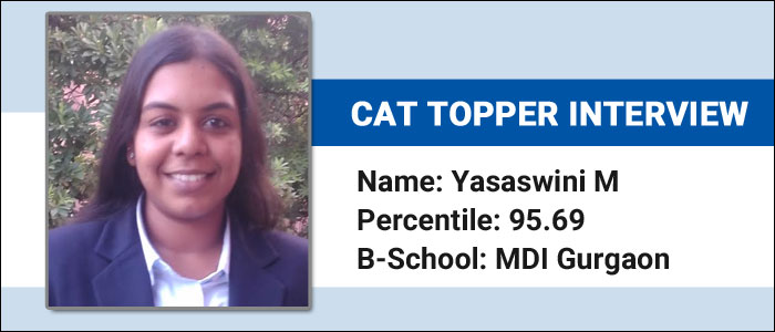 CAT Topper Interview: How mark for review feature helped Yasaswini M manage time