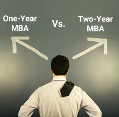 One-Year vs. Two-Year MBA