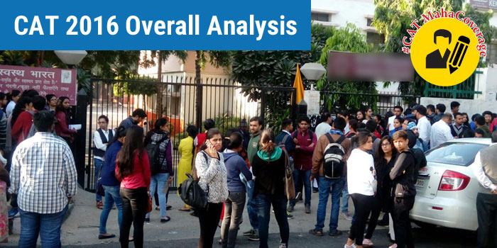 CAT 2016 Review - Marred with question leak controversies and glitches, IIM Bangalore delivers moderate to tough test
