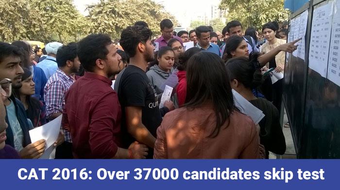 CAT 2016: Over 37000 candidates skip December 4 test