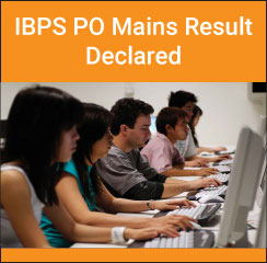 IBPS PO/MT 2016 mains result declared