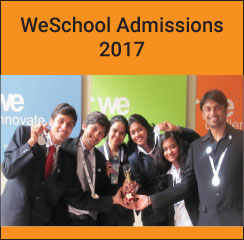 WeSchool announces PGDM Admissions 2017