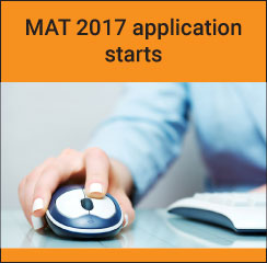 MAT February 2017 application starts; last date to apply January 24