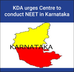 KDA urges Centre to conduct NEET in Kannada
