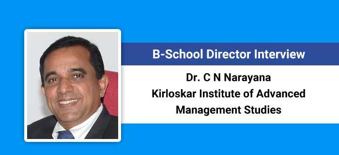 B-School Director Interview: Institute undergoing transformational changes, says Dr C N Narayana, KIAMS Director