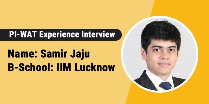 PI-WAT Experience: Impress the panel with your introduction to crack PI, says Samir Jaju, IIM Lucknow