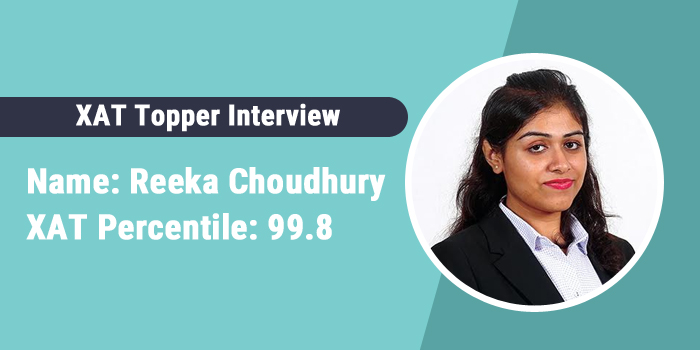 XAT Topper Interview: Solving previous year papers is best way to prepare, says Reeka Choudhury, 99.85 percentiler