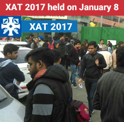 XAT 2017 held on January 8 - Live updates from test centres