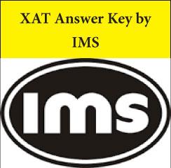 XAT Answer Key 2017 by IMS