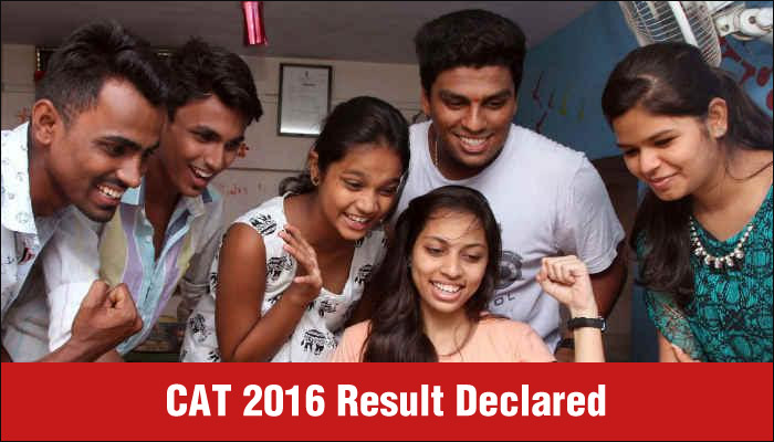 CAT result 2016 declared by IIM Bangalore on January 9