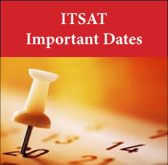 ITSAT Important Dates 2017