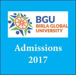 Birla Global University announces MBA admissions 2017