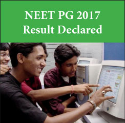 NEET PG Result 2017 declared on January 13