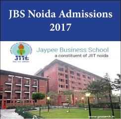 Jaypee Business School announces MBA admissions 2017