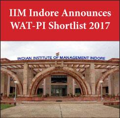 IIM Indore PGP 2017-19 Shortlist Announced