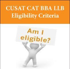CUSAT CAT BBA LLB Eligibility Criteria 2017