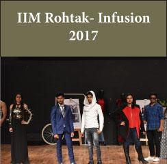 IIM Rohtak conducts Infusion 2017