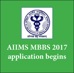 AIIMS MBBS 2017 application begins