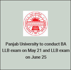PU Law 2017: Panjab University announces law exam dates