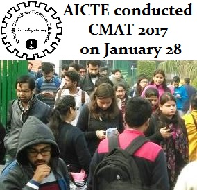 CMAT 2017 conducted on January 28 in 62 cities