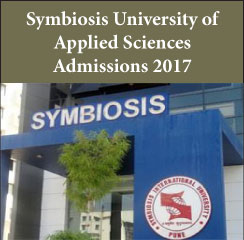 Symbiosis University of Applied Sciences MBA Admissions 2017