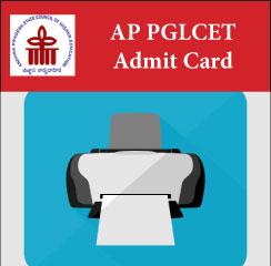 AP PGLCET Admit Card 2017