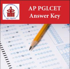 AP PGLCET Answer Key 2017