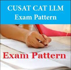 CUSAT CAT LLM Exam Pattern 2017